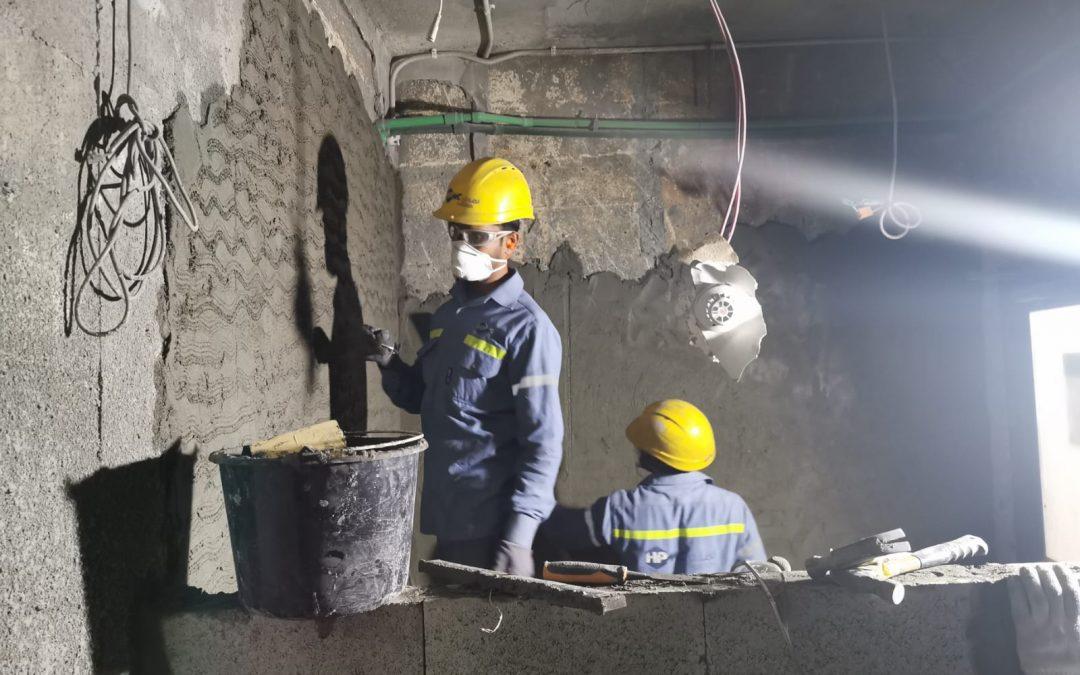Renovation of Toilet at amenity building at Rodding 02- Carbon department- Alba