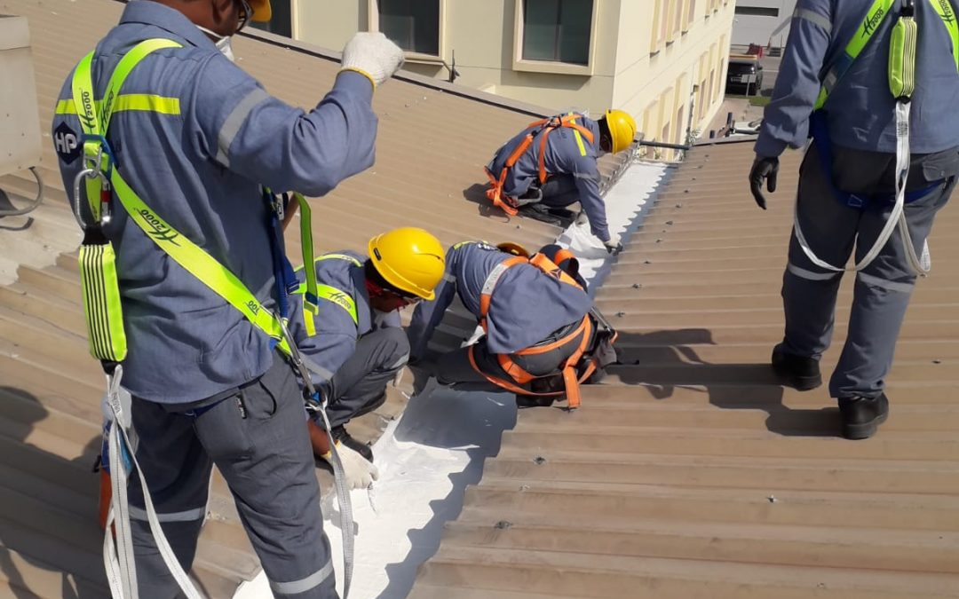 Cleaning and Repairing of Roof Gutters and Waterproofing at Warehousing & Procurement buildings – Alba
